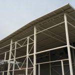 plechová strecha montovanej haly